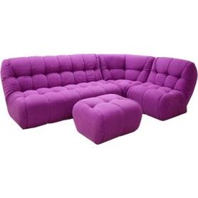 Де-люкс 1 модульный диван книжка