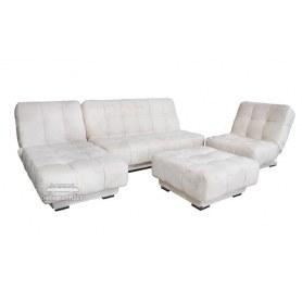 Де-люкс 4 модульный диван книжка