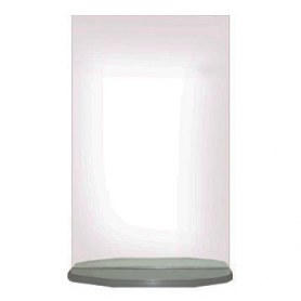 Зеркало в ванную Мила 40 с полкой