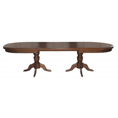 Стол раздвижной 3,0(4,0)*1,1 обеденный на двух тумбах