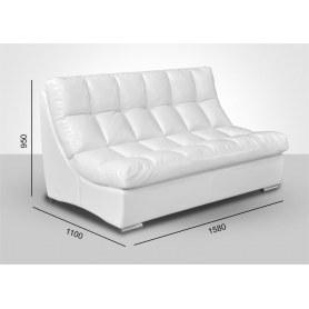 Прямой диван Брайтон без механизма