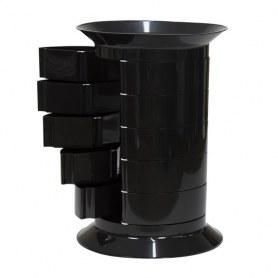 Прикроватная тумба Anita black (универсальная)