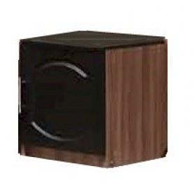 Тумба прикроватная Мадонна, с дверцей, цвет венге