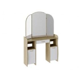Туалетный стол София Т2, цвет Дуб сонома/Белый