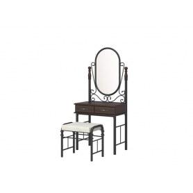 Туалетный столик с банкеткой Garda 2R, венге