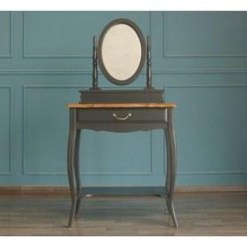 Туалетный столик Leontina с зеркалом (ST9321BLK) Черный