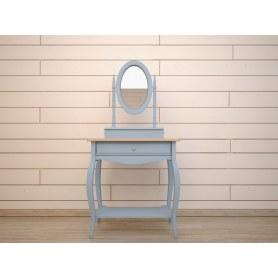 Туалетный столик Leontina с зеркалом (ST9321B) Голубой