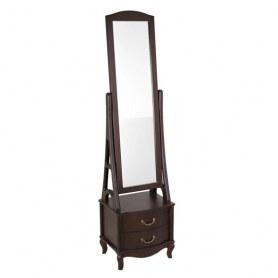 Зеркало напольное Джульетта, цвет Орех
