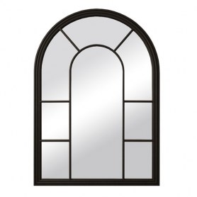 Зеркало Venezia, 201-20BLKETG, черное