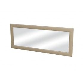 Зеркало настенное Como/Veda, экокожа бежевая