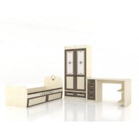 Детский гарнитур Калипсо, кровать, шкаф, стол