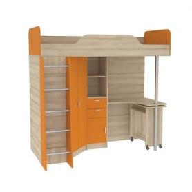 Кровать-чердак Ника 427 со столом