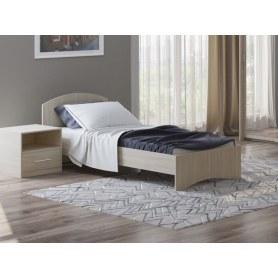 Детская кровать Этюд, 90х190, ясень шимо светлый