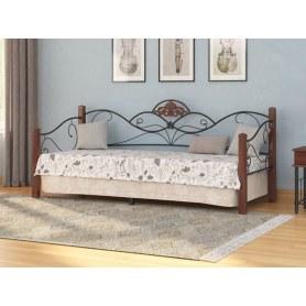 Детская кровать Garda 2R-Софа, 90х200, орех