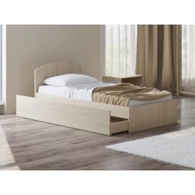 Детская кровать Этюд Плюс, 90х200, дуб шамони