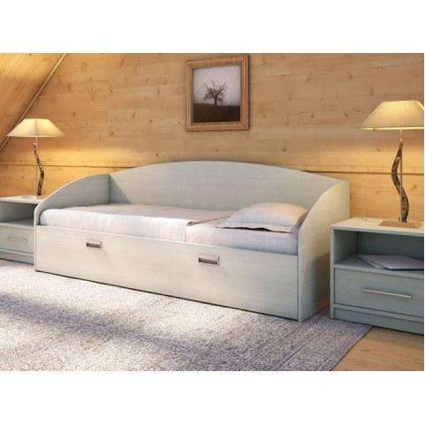 Детская кровать Этюд Софа, 90х200, дуб шамони