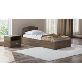 Детская кровать Этюд с подъемным механизмом, 90х200, шимо темный
