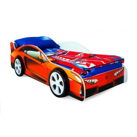 Детская кровать-машина Lamborghini