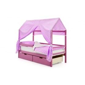 Детская кровать-домик Svogen лаванда