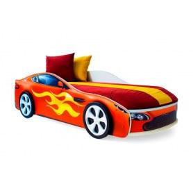 Детская кровать-машина Бондимобиль красный