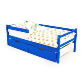 Детская кровать-тахта Skogen синяя
