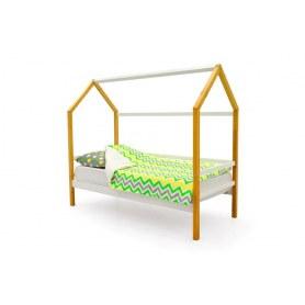 Детская кровать-домик Svogen белый-дерево
