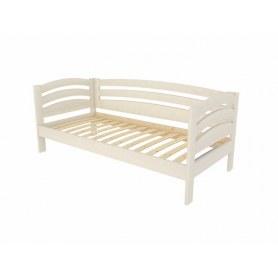 Кровать Веста софа-R, 90х200, сосна, слоновая кость