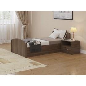 Кровать с подъемным механизмом Аккорд, 90х200, ясень шимо темный
