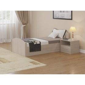 Кровать с подъемным механизмом Аккорд, 90х200, дуб шамони