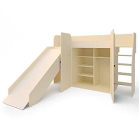 Детская кровать Герой с горкой ДМ-К2-3-1