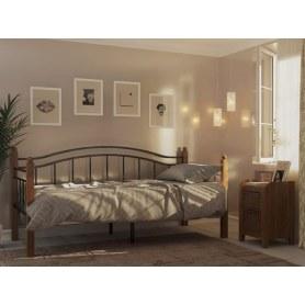Кровать Гарда 8, 90х200, черная