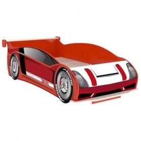 Детская кровать-машина Формула 514.130, цвет красный