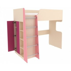 Детская кровать Дарина АРТ. УК03, Розовый