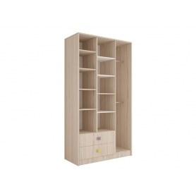 Шкаф гардероб 3 секции Агнешка New, М3, белая лиственица