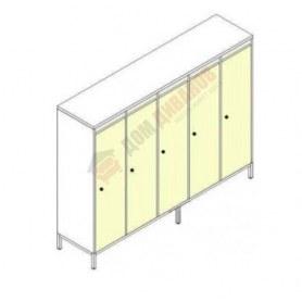 Шкафы для одежды на металлокаркасе Незнайка, ШДм-5