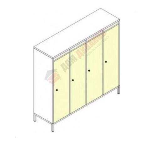 Шкафы для одежды на металлокаркасе Незнайка, ШДм-4