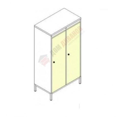 Шкафы для одежды на металлокаркасе Незнайка, ШДм-2