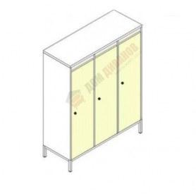Шкафы для одежды на металлокаркасе Незнайка, ШДм-3