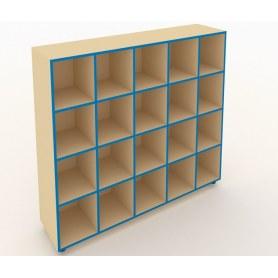 Шкаф для горшков ШГН-20 кромка синяя