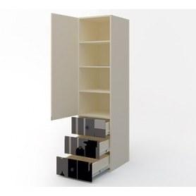 Детский шкаф узкий с ящиками Герой ДМ-ШС-3-4