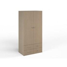 Шкаф широкий Малина, Ясень Шимо, ДМ-ШС-4-1