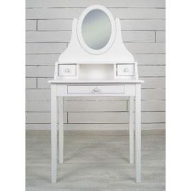 Туалетный столик Adelina с зеркалом (DM1038ETG) Белый