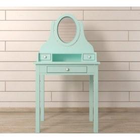 Туалетный столик Adelina с зеркалом (DM1038ETGM) Бирюзовый