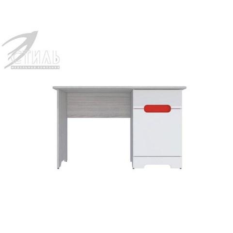 Детский стол Палермо-Юниор, красные вставки