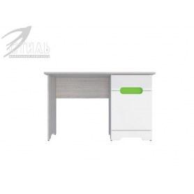 Детский стол Палермо-Юниор, зеленые вставки