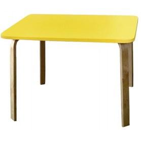Детский стол Мордочки, Желтый