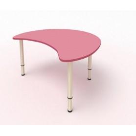 Детский стол Капля МДФ Розовый