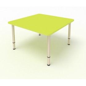 Детский стол 4-местный 70х70 ЛДСП Лайм