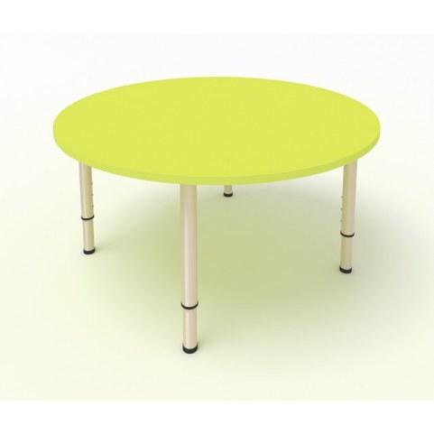 Детский стол круглый ЛДСП Лайм
