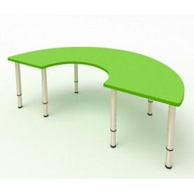 Детский стол Подкова ЛДСП Зеленая мамба